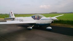 Rotax Falke first flight at Burn