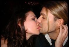 "David Garrett beautiful♥ So sensuous. Quoted by our friend Doris, ""...and I want to be kissed like this!!! Certainly, preferably by David"" LOL! Don't we all?!!!"