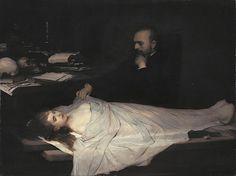"""""""The Anatomist (Der Anatom),"""" Gabriel von Max, 1869"""
