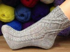 Ravelry: Socke / socks *Hilla * Abo / subscription 2014/11 pattern by Birgit Freyer