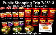 Friday Brag Blog 7-26 with Link Up ~ early this week!   TCC Come check out our savings this week at Publix. We also have trips to Walgreens, CVS, OfficeMax and Kroger!