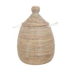 Sene Tvättkorg S Vit 429 kr. Royal Design, House Doctor, Home Decor Kitchen, Storage Baskets, Laundry Basket, Natural Materials, Home Interior Design, Indoor, Lights