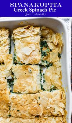 Could You Eat Pizza With Sort Two Diabetic Issues? Best Spankapita Recipe And Complete Tutorial You Will Find Delicious Greek Savory Pie With Crispy Phyllo Dough And A Comforting Spinach And Feta Filling. Extraordinary Tips, Step-By-Step Photos And How-To Vegetable Recipes, Vegetarian Recipes, Cooking Recipes, Healthy Recipes, Greek Food Recipes, Amish Recipes, Dutch Recipes, Pie Recipes, Greek Spinach Pie