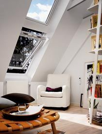 ELUX roof windows are designed for in-reach applications that require egress emergency escape capabilities. Examples include above-garage bonus rooms, lofts, and finished attic spaces.