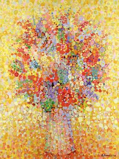 Angelo Franco, Bouquet in Yellow