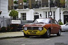Alfa Romeo Giulia Sprint GTA - Beautiful car, beautiful part of London too.