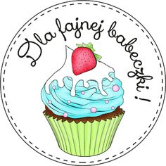 11. Dla fajnej babeczki ! Decor Crafts, Diy And Crafts, Paper Crafts, Mo Manning, Digital Stamps, Banner, Cupcakes, Card Templates, Quilling