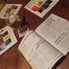 There it is! #heimatdesign & @deinnrw #guidetothewest #release #sissikingkong #dortmund . . . . . . #magazine #editorial #essen #bochum #gelsenkirchen #designer #duisburg #oberhausen #typography #graphicdesign #lettering #type #goodtype #thedailytype #deinnrw #bier #deinbier #editorialdesign #magazine #designers #graphic #photography #inspiration