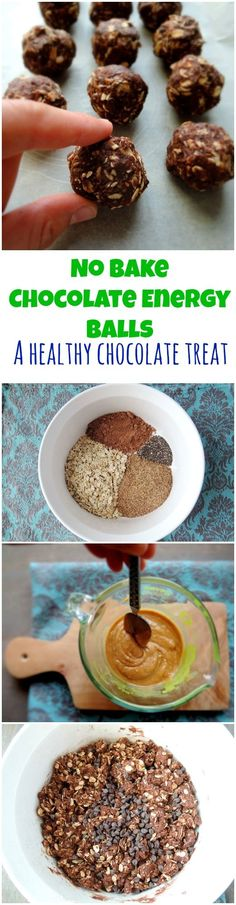 Healthy protein packed chocolate bites that crush my most intense chocolate cravings! Plus they are no-bake!