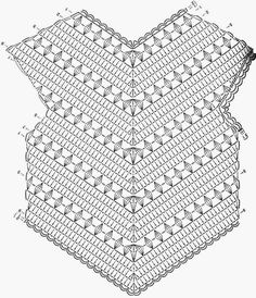 Irish lace, crochet, crochet patterns, clothing and decorations for the house, crocheted.Crochet little girl summer top free pattern – Artofitfrom Lets knit series summer 2014 - SalvabraniThis Pin was discovered by AlbImage gallery – Page 3988501 Crochet Diagram, Crochet Chart, Crochet Motif, Crochet Designs, Crochet Stitches, Irish Crochet Patterns, Crochet Tops, Pull Crochet, Mode Crochet