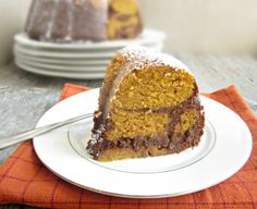Chocolate Pumpkin Bundt Cake - 30 Delicious Thanksgiving Deserts and Drinks Recipes