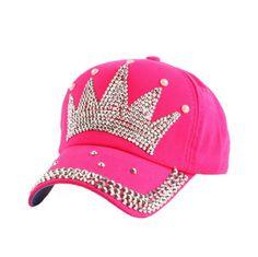f89ee95a3 lot of 5 wholesale latest design rhinestone crown snapback baseball hats  #Crown #BaseballCap Fashion