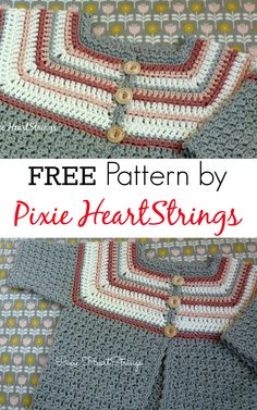 FREE CROCHET pattern from Pixie HeartStrings
