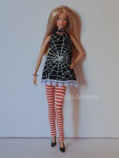 Custom Barbie Doll Fashion by Dolls4Emma