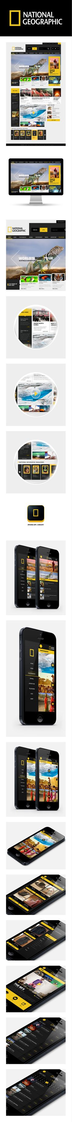 National Geographic re-design