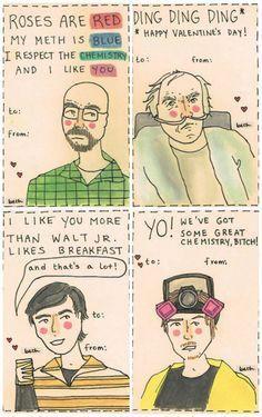 breaking bad valentines
