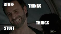 New trending GIF on Giphy. the walking dead meme things stuff rick grimes andrew lincoln. Follow Me CooliPhone6Case on Twitter Facebook Google Instagram LinkedIn Blogger Tumblr Youtube