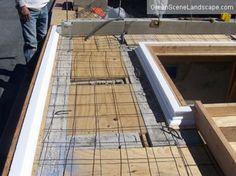 Embedding Glass In Outdoor Concrete Countertops   The Concrete Network