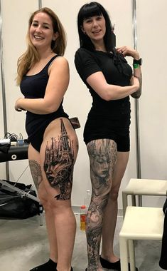 Tony Mancia's Tattoos, Striking Realistic and Surrealistic Ink Pieces with Architectural Influences - zeichnungen,fantasy und tattoos - Tattoo Designs For Women Great Tattoos, Sexy Tattoos, Life Tattoos, Unique Tattoos, Beautiful Tattoos, Body Art Tattoos, Small Tattoos, Sleeve Tattoos, Leg Tattoos Women