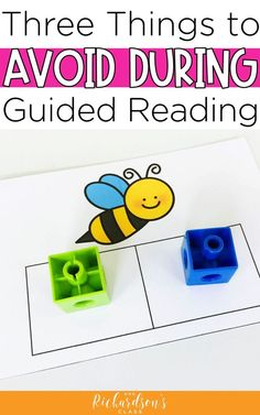 There are 3 things we all need to avoid doing in guided reading from kindergarten all the way to upper elementary. Check out this blog post to find out what they are and make sure you aren't doing them. Let's teach our guided reading groups with best practices so we can make the most of our time with our students! #guidedreading #balancedliteracy
