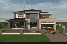 Beautiful House Plans, Dream House Plans, Dream Houses, Beautiful Homes, Double Storey House Plans, House Plans South Africa, Ilocos, Walk In Closet Design, 4 Bedroom House Plans