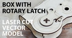 Wooden box with rotary latch | Cartonus