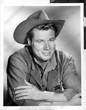 John Smith Actor | John Smith Actor LARAMIE Closeup Western Headshot Press Photo