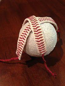 Baseball Bracelet DIY