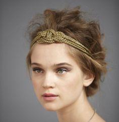 Небрежная греческая прическа с ободком ::: onelady.ru ::: #hair #hairs #hairstyle #hairstyles