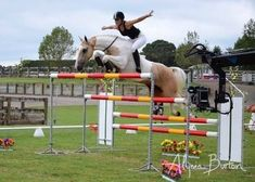 Alicia Burton, New Zealand rider