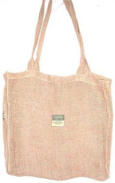 Hemp Sackcloth Shopping Bag Made by: Hemp Basics $12.00 This bag ...