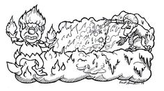 Patrick Owsley Cartoon Art and More!: HEAT MISER & SNOW ...