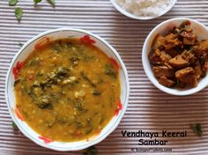 Sambar is an indispensable dish in a South Indian meal. It is a lentil based stew made with any vegetable along with spices. Variety of sambar is prepared