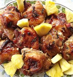 Recipe For Hawaiian Summer Chicken  if the chicken is half as yummy as this pic looks.....