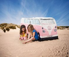 Volkswagen tent for the small ones!