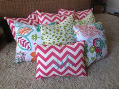 Pillows! #ahadesigns