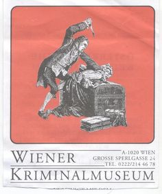 Late Middle Ages, Museum, Vienna, Crime, Police, Rooms, History, Poster, Art