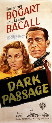 Dark Passage, 1947, Warner Bros Art Print by Christie's Images at King & McGaw