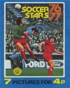 Soccer Stars '76 '77 Packet (Front)