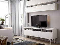 entertainment center idea 2 - Ikea