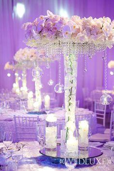 Lilac Wedding, Flower Bouquet Wedding, Dream Wedding, Wedding Day, Table Wedding, Bridal Bouquets, Tall Wedding Centerpieces, Flower Centerpieces, Centrepieces