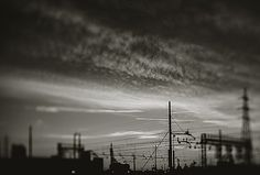 Sunset On The Railway by Alessandro Chiarini