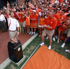 i'd spend every day at a clemson football game if i could...