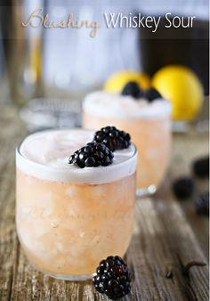 Wednesday Whatsits (99) Julie's Favorites: Blushing Whiskey Sour