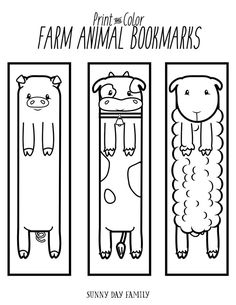 Free+Printable+Farm+Animal+Bookmarks+for+Kids+to+Color American+ExpressDinersDis. Free+Printable+Farm+Animal+Bookmarks+for+Kids+to+Color American+ExpressDinersDis. Bookmarks Diy Kids, Free Printable Bookmarks, Printable Animals, Printable Crafts, Bookmarks To Color, Bookmark Template, Farm Animal Crafts, Animal Art Projects, Animal Crafts For Kids