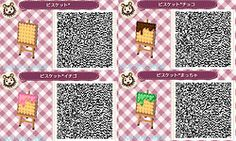 Sweets Village Paths ACNL QR Code 3/5