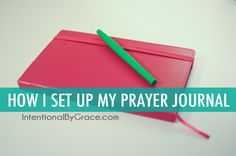 Have you ever considered creating a prayer journal? Do you want to be more intentional with your prayer life? Then today's post is for you! I have wanted to share my new prayer journal for several weeks now, but life kept happening and shooting the video kept getting pushed down further and further on the …