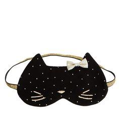 Masque de nuit chat