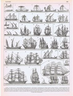 Old Ships Antique Print 1897 Vintage Lithograph by Craftissimo, Old Sh. - Old Ships Antique Print 1897 Vintage Lithograph by Craftissimo, Old Ships Antique Print 1 - Old Sailing Ships, Boat Plans, Ship Art, Tall Ships, Model Ships, Antique Prints, Vintage Posters, History, Antiques