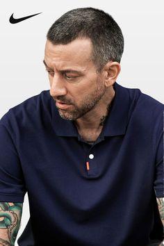 Polo Shirt Outfits, Mens Polo T Shirts, Blue Slim Fit Suit, Streetwear, Cute Lightskinned Boys, Golf Fashion, Men Fashion, Golf Outfit, Summer Essentials